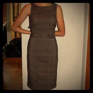 Simple Plaid Dress